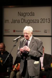 Jerzy Holzer tuż po ogłoszeniu werdyktu jury