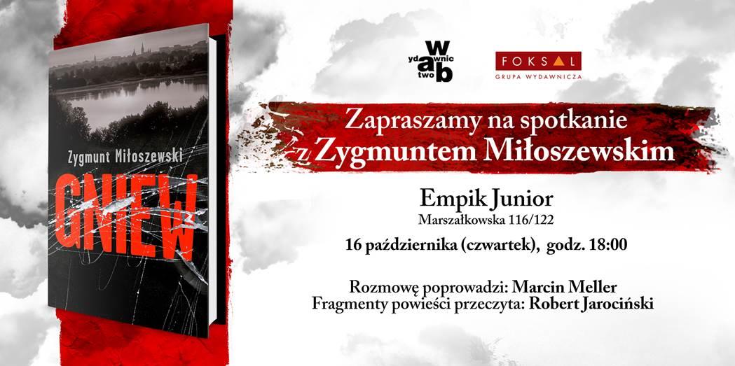 Spotkanie Zygmunt Miłoszewski