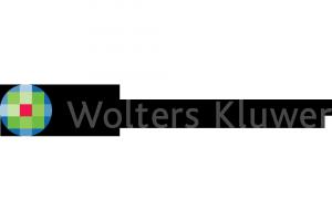 Wolters kluwer logo nowe białe
