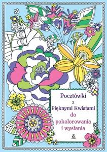 Pocztówki z pięknymi kwiatami