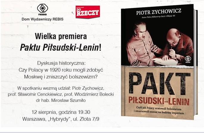 plakat Rebis Zychowicz