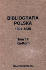 bibliografia polska tom 17