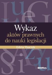 wykaz-aktow-prawnych-do-nauki-legislacji