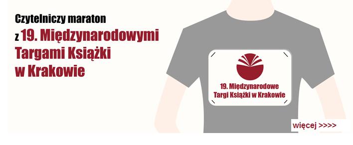 czytelniczy maraton targi w krakowie