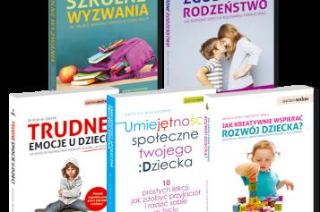 Wydawnictwo Samo Sedno poleca  publikacje o wychowaniu i rozwoju dziecka