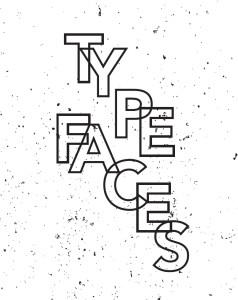 Typefaces plakat
