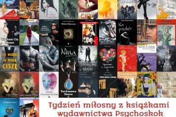 Tydzień miłosny z książkami Wydawnictwa Psychoskok