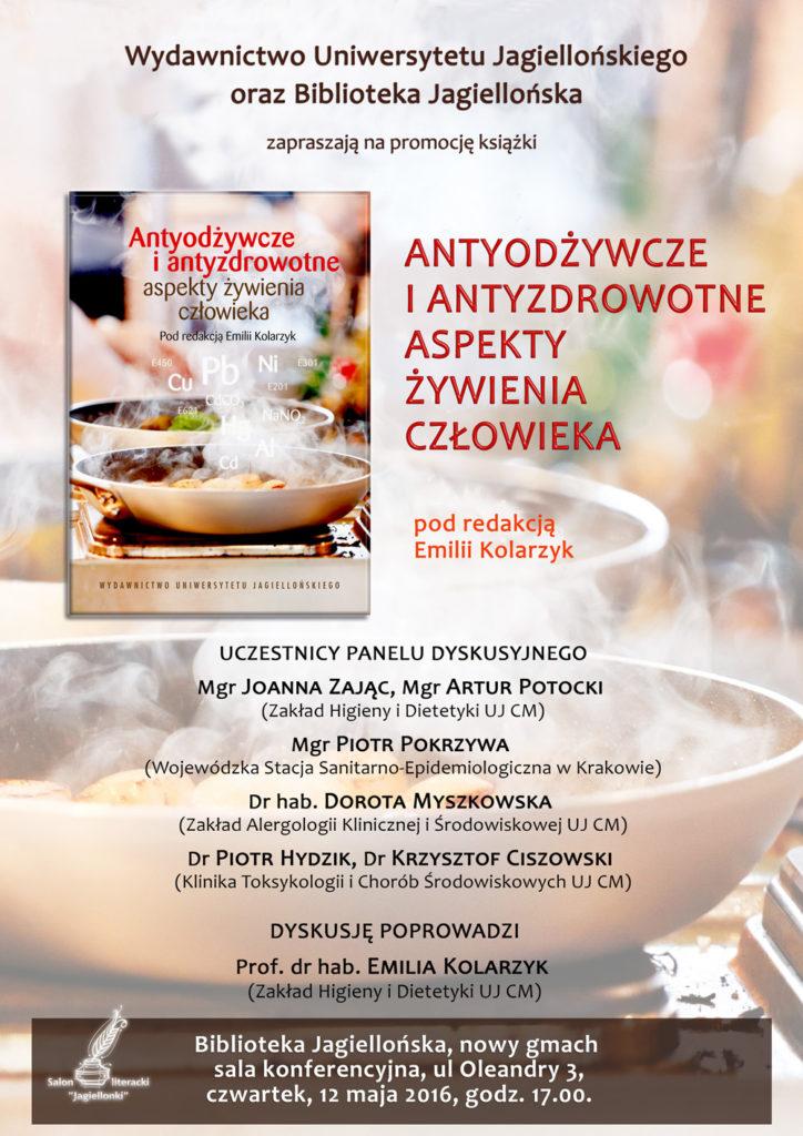 Plakat Antyodżywcze