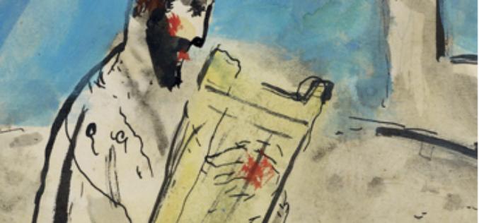 Chagall. Podróż przez Biblię. Nieznane studia i gwasze