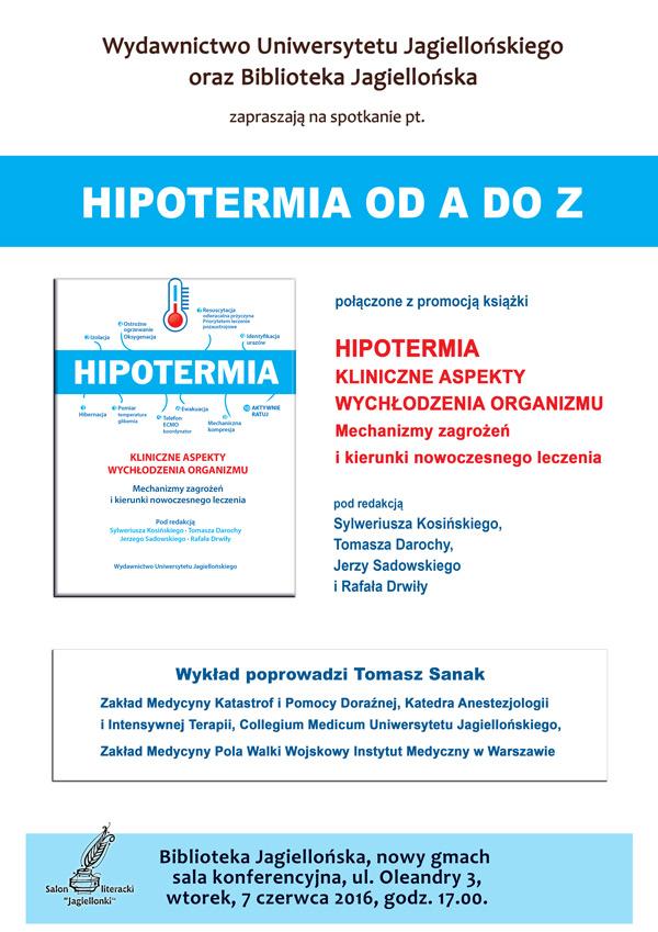 Hipotermia plakat