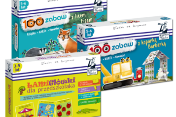 Zabawa i nauka w jednym dla przedszkolaka