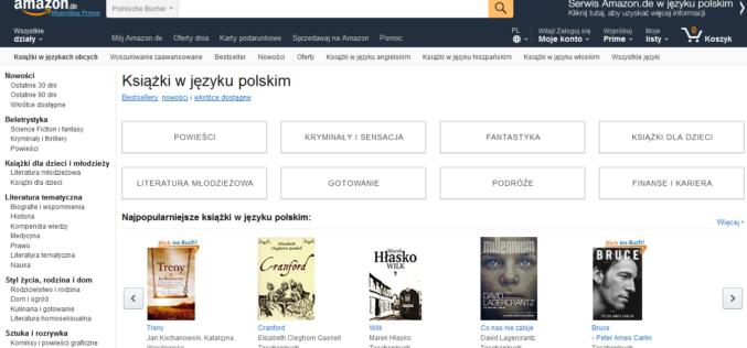 Amazon uruchomił stronę w języku polskim