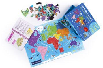 Magnetyczna podróż przez wszystkie kontynenty!