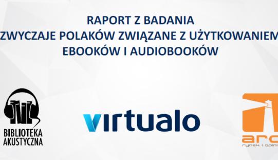 """""""Zwyczaje Polaków związane z użytkowaniem ebooków i audiobooków"""""""