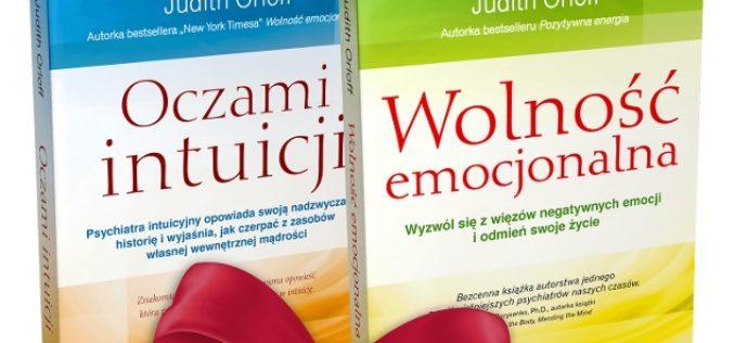 PAKIET 2w1 – 2 niezwykłe książki dr Judith Orloff – lekarza serca, umysłu i duszy