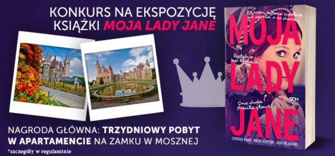 Uwaga Księgarze! SQN ogłasza Konkurs na ekspozycję książki MOJA LADY JANE