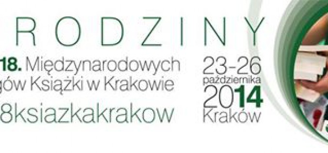 Międzynarodowe Targi Książki w Krakowie wypływają w tym roku na głębokie wody dorosłości.