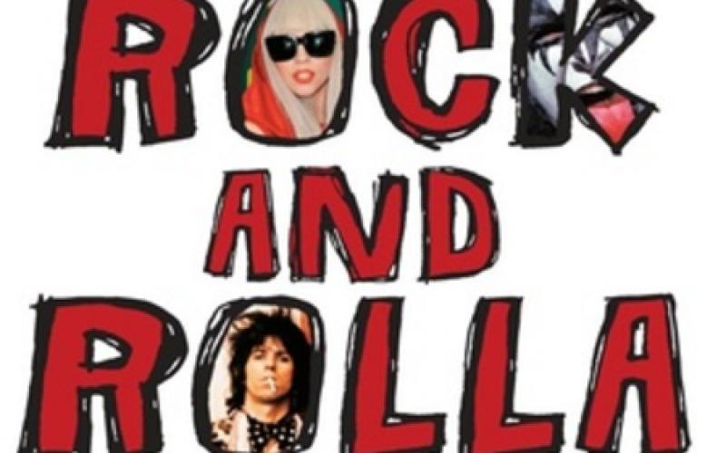 """Największe plotki ze świata Rock and Rolla! """"Mitty rock and rolla"""" pleca Wydawnictwo Burda Książki"""