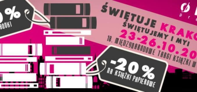 Świętujemy 18. Krakowskie Targi Książki!