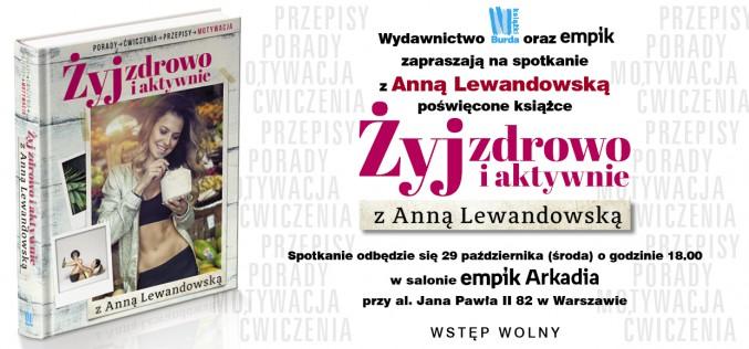 Wydawnictwo Burda Książki serdecznie zaprasza na nadchodzące spotkania z autorami w sieci EMPiK na terenie całej Polski!
