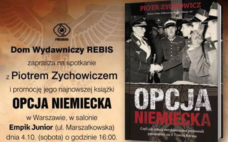 DW Rebis zaprasza na spotkanie z Piotrem Zychowiczem