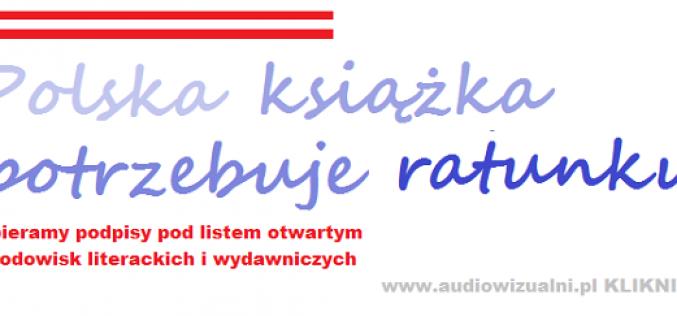 Polska książka potrzebuje ratunku — zakończenie akcji zbierania podpisów