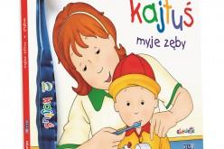Książeczka ze szczoteczką zachęcająca dzieci do samodzielnego mycia zębów