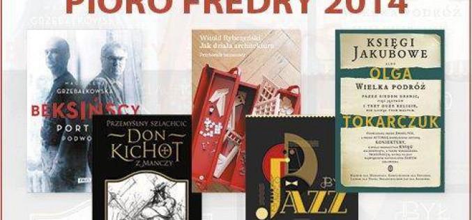 Pióro Fredry 2014. Znamy nominacje!