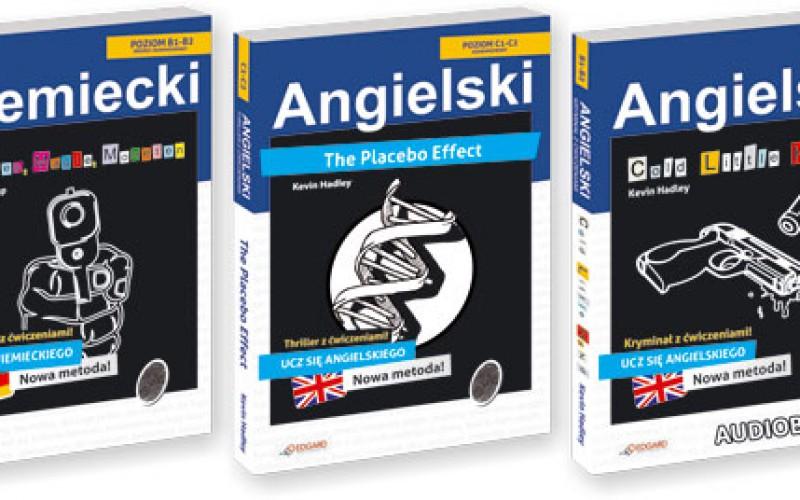 Angielska i niemiecka seria KRYMINAŁ z ćwiczeniami