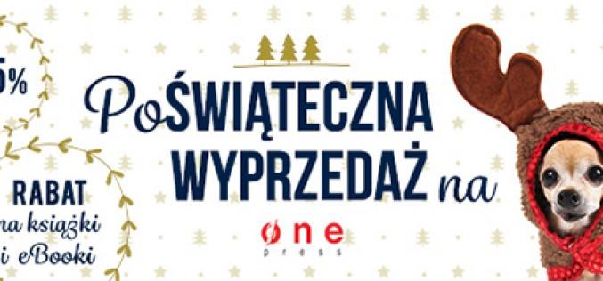 Poświąteczna wyprzedaż na Onepress.pl