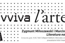 GNIEW Zygmunta Miłoszewskiego – nagrody i spotkania