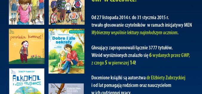 Wyniki konkursu MEN – GWP w czołówce!
