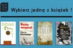 Wybieramy książkę, która stanie się bohaterką akcji Warszawa Czyta 2015!
