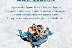 Rozstrzygnięcie II edycji Ogólnopolskiego Konkursu im. Janusza Christy na Komiks dla Dzieci