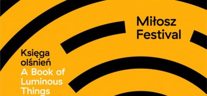 Znamy już program rozpoczynającego się w przyszłym tygodniu Festiwalu Miłosza