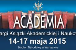 9. Targi Książki Akademickiej i Naukowej ACADEMIA 2015