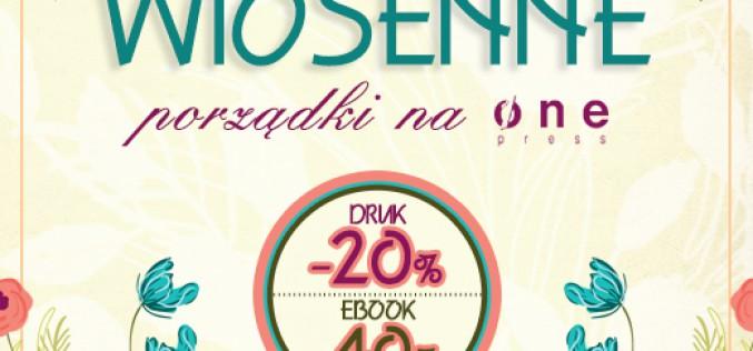 Wiosenne porządki na Onepress.pl [-20% na książki i -40% na ebooki]