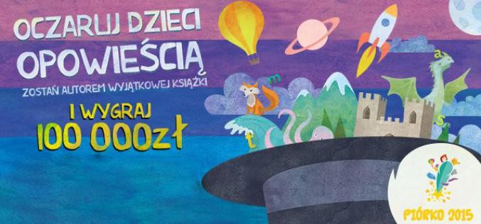 Już 250 pisarzy zgłosiło swoje prace wkonkursie Biedronki Piórko 2015