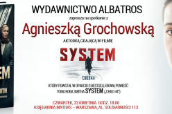 Agnieszka Grochowska w Księgarni MATRAS – Warszawa, 23 kwietnia godz. 18.00