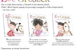 ZOE i Groszek – nowa seria dla dzieci Wydawnictwa REA-SJ