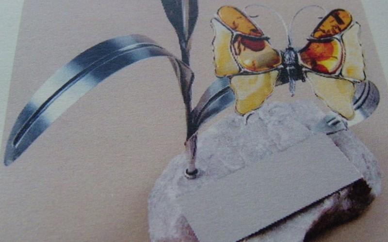 Bursztynowy Motyl dla Tadeusza Biedzkiego