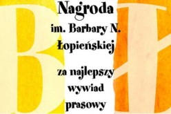 Małgorzata Niemczyńska laureatką Nagrody im. Barbary N. Łopieńskiej