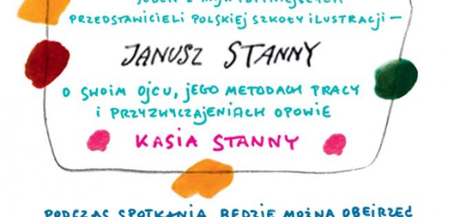 """""""Wędrówka pędzla i ołówka"""". Spotkanie z Katarzyną Stanny"""