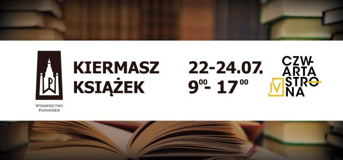 Wydawnictwo Poznańskie oraz wydawnictwo Czwarta Strona zapraszają na KIERMASZ KSIĄŻEK