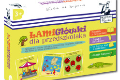 Pakiet Łamigłówki dla przedszkolaka 3+
