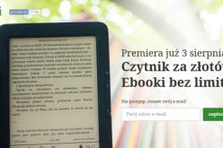 Czytnik za złotówkę. Ebooki bez limitu. Dla wszystkich!