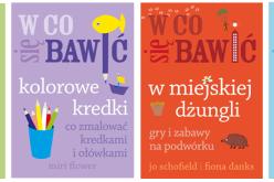 Polskie wydanie bestsellerowej serii książek!  W CO SIĘ BAWIĆ