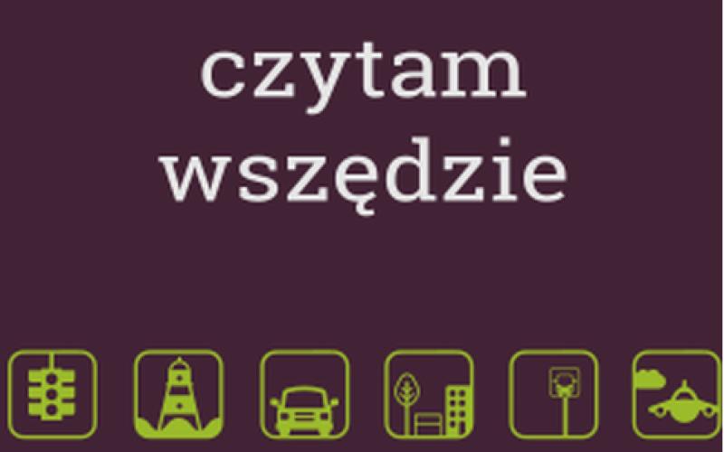 Czytam wszędzie – kampania społeczna WolneLektury.pl