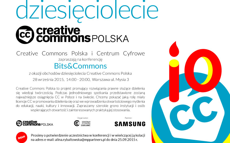 Debata Creative Commons: do większego otwarcia kultury nadal daleka droga