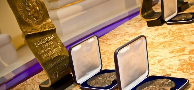 Wręczono Nagrody im. Cypriana Kamila Norwida 2015
